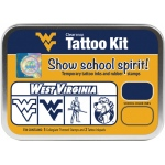 ColorBox® West Virginia University Collegiate Tattoo Kit: Tin, Stamp, (model CS19642), price per set