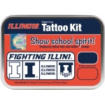 ColorBox® University of Illinois Collegiate Tattoo Kit: Tin, Stamp, (model CS19643), price per set