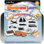 ColorBox® Stamp and Learn Going Places Kit: Kit
