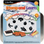 ColorBox® Stamp and Learn Let's Eat Kit: Kit, (model CS86016), price per set