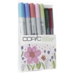 Copic® Ciao Natural Doodle Kit: Multi, Double-Ended, Refillable