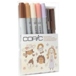 Copic® Ciao People Doodle Kit: Multi, Double-Ended, Refillable