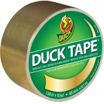 Duck Tape® Metallic Gold Tape (Roll): Metallic, Roll, 10 yd, Color
