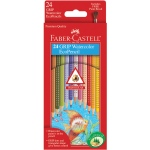 Faber-Castell® GRIP 24 Watercolor EcoPencils: Pencil, Watercolor, (model FC9121224), price per set