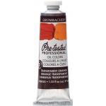Grumbacher® Pre-Tested® Artists' Oil Color Paint 37ml Transparent Orange: Orange, Tube, 37 ml, Oil, (model GBP005GB), price per tube