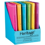 "Heritage Arts™ 4"" x 6"" Notebook Display: Sewn Bound, Assorted, Book, 4"" x 6"", Notebook"