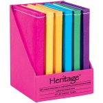 "Heritage Arts™ 5"" x 7"" Notebook Display: Sewn Bound, Assorted, Book, 5"" x 7"", Notebook"