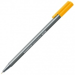 Staedtler® Triplus® Light Orange Fineliner Pen : Orange, .3mm, Fine Nib, Technical