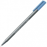 Staedtler® Triplus® Delft Blue Fineliner Pen : Blue, .3mm, Fine Nib, Technical, (model 334-63), price per each
