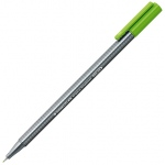 Staedtler® Triplus® Light Green Fineliner Pen : Green, .3mm, Fine Nib, Technical
