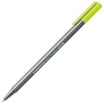 Staedtler® Triplus® Lime Green Fineliner Pen : Green, .3mm, Fine Nib, Technical, (model 334-53), price per each
