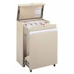 "Safco® MasterFile Storage Cabinet 42"" x 30"": 1600 Sheets, White/Ivory, Steel, 21 1/2""d x 36""w x 50""h"