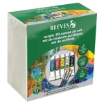 Reeves Acrylic 3D Canvas Art Set