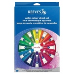 Reeves™ Watercolor Color Wheel Set: Watercolor, (model 8491470), price per set