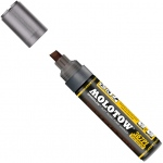 MOLOTOW™ 4-8mm Chisel Tip Pump Marker: Black/Gray, Paint, Refillable, 8mm, Paint Marker, (model M367000), price per each