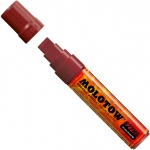 MOLOTOW™ 15mm Wide Tip Acrylic Pump Marker Burgundy: Red/Pink, Paint, Refillable, 15mm, Paint Marker