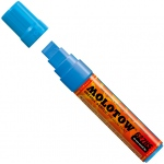 MOLOTOW™ 15mm Wide Tip Acrylic Pump Marker Shock Blue Middle: Blue, Paint, Refillable, 15mm, Paint Marker