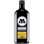 MOLOTOW™ 60mm Masterpiece Tip Pump Coversall 250ml Black Ink Refill: Black/Gray, Refill