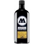 MOLOTOW™ 60mm Masterpiece Tip Pump Speedflow 250ml Black Ink Refill: Black/Gray, Refill