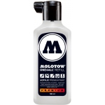 MOLOTOW™ 180ml Acrylic Marker Refill Signal White: White/Ivory, Paint, Refill, 180 ml, Refill