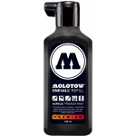 MOLOTOW™ 180ml Acrylic Marker Refill Signal Black: Black/Gray, Paint, Refill, 180 ml, Refill, (model M692180), price per each