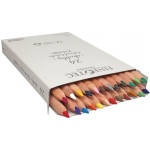 Finetec Chubby Colored Pencil 24-Color Set: 6mm, 24 Pencils, Colored, (model P008), price per set