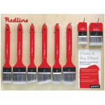 Princeton™ Redline™ Large Brush Wall Display: Synthetic, Multi, (model P6700D), price per each