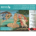 "Reeves™ Large Painting By Numbers Birth Of Venus: 12"" x 16"", 12"" x 16"", (model PBNACL13), price per each"