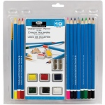 Royal & Langnickel® Essentials™ Watercolor Pencil Set: Clamshell, Watercolor, (model RART-2001), price per set