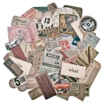 Advantus - Tim Holtz - Ideaology -Ephemera Pack - Expedition