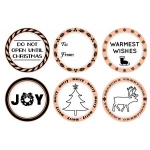 Mason Row - Seasons Greetings Stamp Set