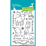 Lawn Fawn - Critters in the Arctic Stamp Set