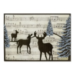Sizzix - Winter - Thinlits Die - Winter Deer