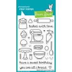 Lawn Fawn - Baked with Love Stamp Set