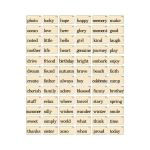 Advantus - Tim Holtz - Ideaology - Flash Cards Elementary
