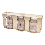 Advantus - Tim Holtz - Ideaology - Mini Mason Jars