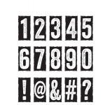 Stampers Anonymous - Tim Holtz - Number Blocks Stamp Set