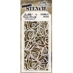 Stampers Anonymous - Tim Holtz - Stencil - Scribbles