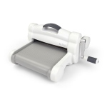 Sizzix - Big Shot Plus Machine - White and Gray
