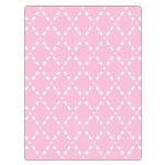 Sizzix - Textured Impressions Embossing Folder - Quilted Diamonds