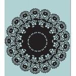 Sizzix - Tim Holtz Alterations - Texture Fades Embossing Folder - Doily