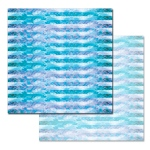 Ken Oliver - Pitter Patterns - Azure Waters 12x12 Paper