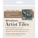 "Strathmore® Toned Tan Sketch Artist Tiles: White/Ivory, Tile, 4"" x 4"", Tile, 80 lb"