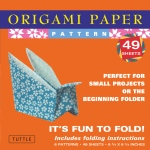 "Tuttle 6.75"" Patterned Origami Paper : Sheet, 6 3/4"", Origami, (model T835251), price per pack"