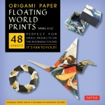 "Tuttle 6.75"" Origami Paper Floating World: Sheet, 6 3/4"", Origami, (model T843409), price per pack"