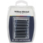 William Mitchell Universal Assorted Color Calligraphy Ink Cartridges: 20-Pack, Refill, (model WM30104), price per set