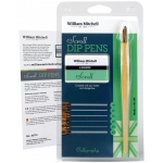 William Mitchell Scroll Dip Pen Set