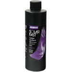 Jacquard SolarFast ™ Purple Dye 8 oz: Purple, Bottle, 8 oz, Sunlight-Developed