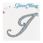 Making Memories Glitter Bling Monogram Script: I