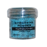 Ranger Specialty 2 Embossing Powders: Turquoise